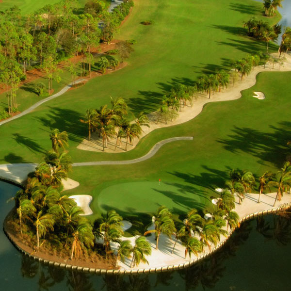 Naples Golf Course Homes